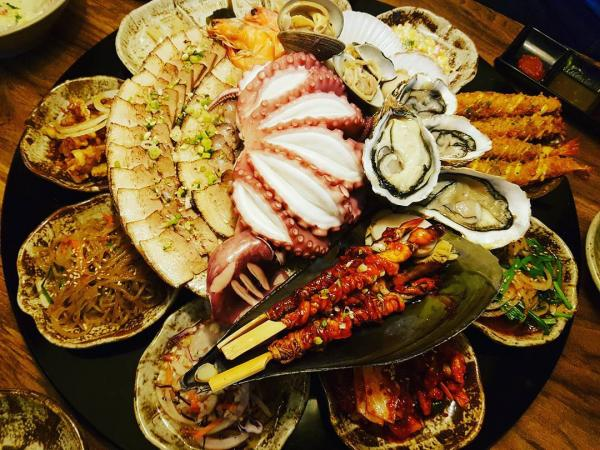 重量級海鮮菜包豬肉! 韓國大王海鮮菜包肉店 8