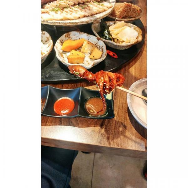重量級海鮮菜包豬肉! 韓國大王海鮮菜包肉店 11