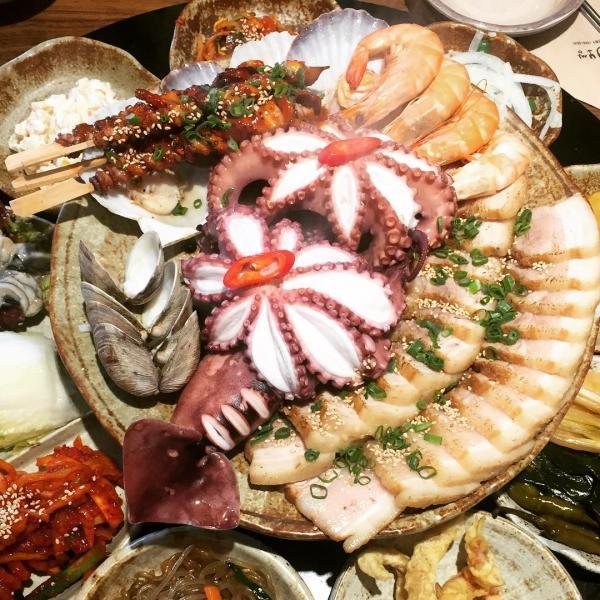 重量級海鮮菜包豬肉! 韓國大王海鮮菜包肉店 20