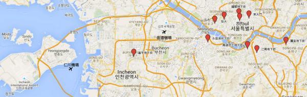 首爾7大購物點哪個最好行? 高速巴士/蠶室/江南/富平 12