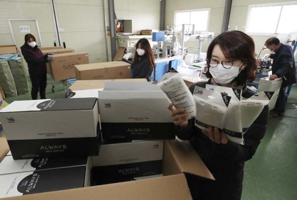 中國禁止輸出口罩原材料 韓國口罩廠或面臨一週內停產危機!