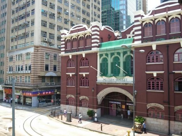 香港 上環 散策 漫步 古老 街道