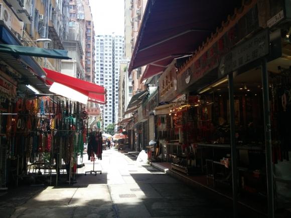 香港 上環 散策 漫步 古老 街道 古玩 市集 上嚤囉街
