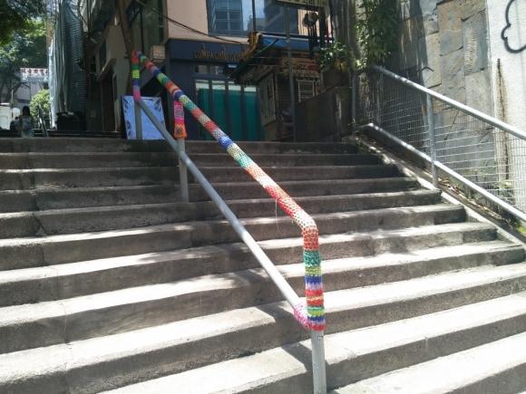 香港 上環 散策 漫步 古老 街道 古老街道 樓梯街