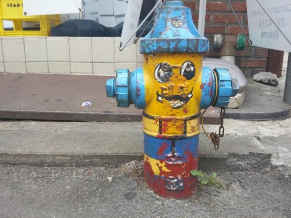 首爾 三清洞 北村韓屋 消防栓