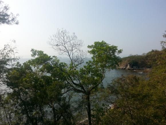香港 南區 香港仔 華富 秘境 美景 瀑布灣 攝影 對面 南丫島 風車