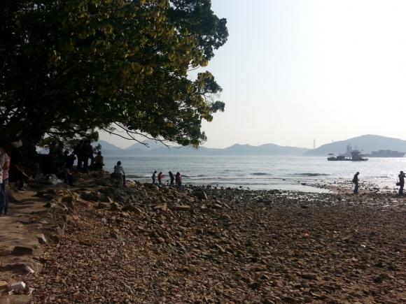 香港 南區 香港仔 華富 秘境 美景 瀑布灣 攝影