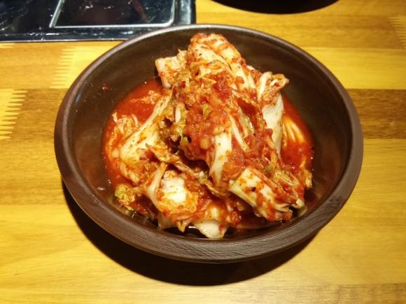 香港 銅鑼灣 韓國 首爾 烤肉 喜來稀肉 配菜  特製泡菜