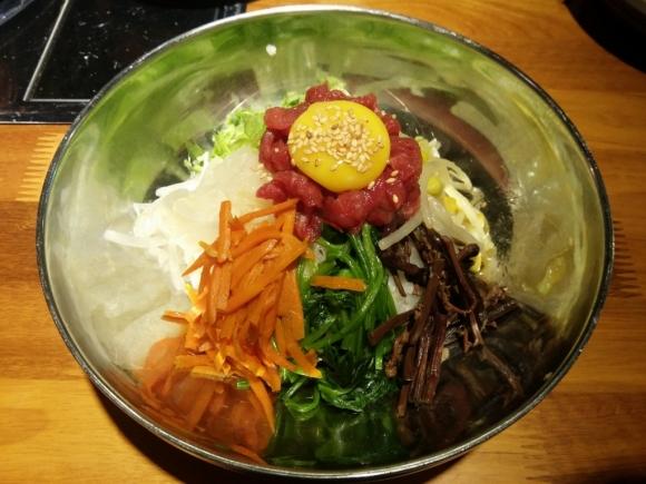 香港 銅鑼灣 韓國 首爾 烤肉 喜來稀肉 韓式 生牛肉拌飯