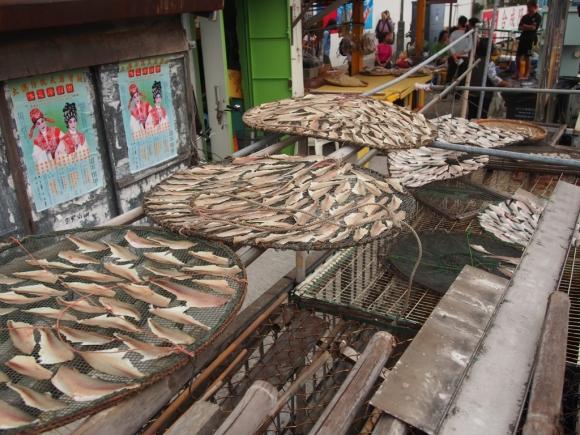 香港 大澳 原始棚屋 特色小店 地道土產 水鄉 漁村 小渡輪