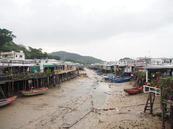 香港 大澳 原始棚屋 特色小店 地道土產 水鄉 漁村 沙螺灣