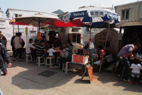 香港 大澳 原始棚屋 特色小店 地道土產 水鄉 漁村 石仔埗街