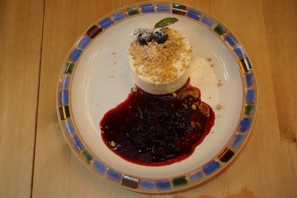 大坑 英倫 西班牙 健康 餐廳 營養師 貓頭鷹 Nocte 藍莓芝士蛋糕