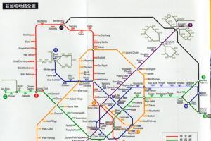 新加坡地鐵周圍遊
