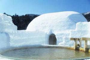 [北海道]然別湖冰上露天溫泉