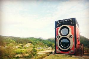 [首爾] 死前必訪的巨型復古相機cafe