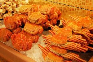 北海道3980日圓任食鱈場蟹,毛蟹,花蟹,各種海鮮肉類