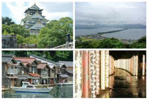 一個人不太孤單- 大阪、京都、那名為伊根的漁村