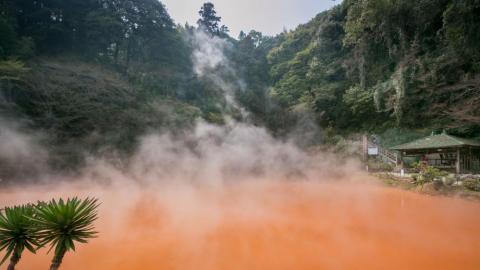 日本九州一日遊行程 浸地獄溫泉、參拜太宰府