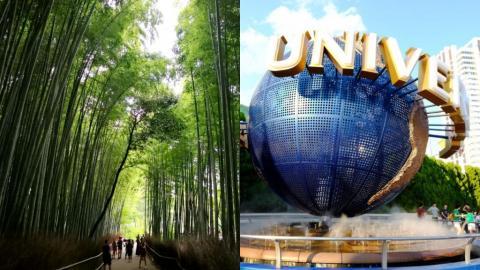 京阪神行程編排一文即上手! 道頓堀/USJ/嵐山竹林/奈良公園
