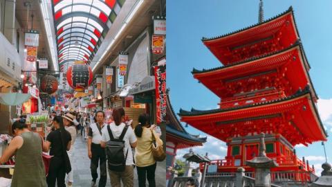 京都大阪奈良7日6夜行程 神社參拜攻略、商店街購物、精選美食