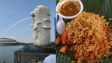 新加坡4日3夜行程 美食掃街/小印度/魚尾獅打卡