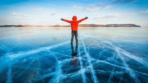 (徵人)貝加爾湖 藍冰8日