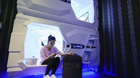 台北 三天兩夜 輕度美食遊覽 板橋-瑞芳-烏來 -浪漫夏日約會景點*深澳輕軌星空隧道-